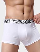 رخيصةأون ملابس سباحة رجالي-للرجال شورت قصير سادة ارتفاع متوسط