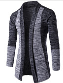 cheap Men's Sweaters & Cardigans-Men's Weekend Long Sleeve Cardigan - Color Block