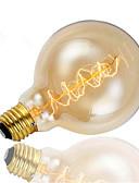 baratos Vestidos Baile Formatura-1pç 40 W E26 / E27 G95 Branco Quente 2300 k Retro / Decorativa Incandescente Vintage Edison Light Bulb 220-240 V