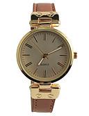 abordables Relojes de Moda-Mujer Reloj de Pulsera Gran venta / / PU Banda Vintage / Casual / Moda Marrón