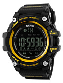 cheap Quartz Watches-SKMEI Men's Women's Sport Watch Smartwatch Wrist Watch Digital 30 m Water Resistant / Water Proof Alarm Calendar / date / day Rubber Band Digital Luxury Black / Red - Yellow Red Blue / Pedometers