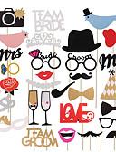 olcso Menyasszonyi fátyol-Egyedi esküvői dekor Fa / Környezetbarát anyag / Kartonpapír Esküvői dekoráció Karácsony / Esküvő / Halloween Tengerparti téma / Kerti témák / Vegas téma Tavasz / Nyár / Ősz