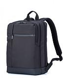 זול מטען כבלים ומתאמים-xiaomi mi קלאסי סגנון העסק גברים תרמיל 17l קיבולת עבור מחשב נייד 15.6 אינץ '