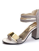 cheap Women's Nightwear-Women's Block Heel Sandals Cashmere Summer Comfort Sandals Walking Shoes Chunky Heel / Block Heel Open Toe Buckle Black / Gray / Red