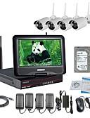 olcso atonai óra-strongshine® vezeték nélküli IP kamera 960p-os infravörös vízálló és nvr 10,1 hüvelykes lcd 2tb felügyeleti hdd készletekkel