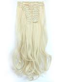 povoljno Ženski jednodijelni kostimi-S kopčom sintetički Ekstenzije za kosu Ugradnja umetaka