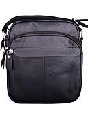 お買い得  メンズ アウター-男性用 バッグ レザー クロスボディーバッグ のために フォーマル / オフィス&キャリア ブラック / Brown