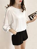 ieftine Tricou-Pentru femei Mărime Plus Size Bluză Concediu / Ieșire Sofisticat - Mată