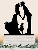 cheap Wedding Veils-Cake Topper Beach Theme Garden Theme Butterfly Theme Holiday Classic Theme Fairytale Theme Baby Shower Rustic Theme Vintage Theme