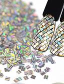 hesapli Gelin Şalları-1 pcs Yapay Elmaslar 3D tırnak sanatı Manikür pedikür Şık / Mücevher / Shiny