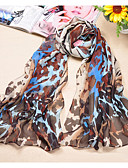 cheap Women's Coats & Trench Coats-Women's Party Polyester / Chiffon Rectangle Scarf / Cute