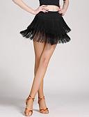 preiswerte Abendkleider-Latein-Tanz Damen Quaste Niedrig Röcke
