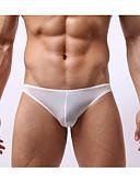 baratos Roupas Íntimas e Meias Masculinas-Homens Super Sexy Cuecas Sólido 1 Peça