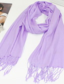 cheap Fashion Scarves-Women's Imitation Cashmere Rectangle - Solid Colored