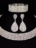 cheap Men's Blazers & Suits-Women's Jewelry Set - Classic, Basic Include Silver For Christmas Gifts Wedding Party / Special Occasion / Anniversary / Birthday / Engagement / Casual