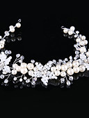 cheap Wedding Dresses-Tulle Headbands with Feather 1 Event / Party Headpiece