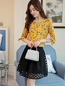 preiswerte Hemd-Damen Blumen Bluse