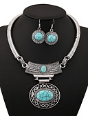 cheap Fashion Belts-Women's Jewelry Set - Vintage Include Gold / Silver / Blue For Party / Daily
