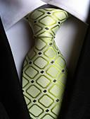cheap Men's Ties & Bow Ties-Men's Neckwear Necktie - Houndstooth