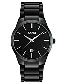 cheap Digital Watches-SKMEI Men's Wrist Watch Japanese Calendar / date / day / Water Resistant / Water Proof / Cool Alloy Band Black / Two Years / Maxell626