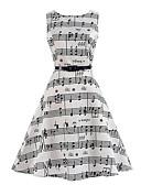 cheap Women's Dresses-Women's Street chic Sheath Dress - Floral Pattern, Stylish Print Halter