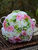 """baratos Véus de Noiva-Bouquets de Noiva Buquês Casamento Organza Cetim 11.02""""(Aprox.28cm)"""
