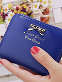 cheap Men's Ties & Bow Ties-Women's Bags PU Checkbook Wallet for Casual Fuchsia / Deep Blue / Red