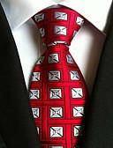 cheap Men's Accessories-Men's Neckwear Necktie - Houndstooth Basic