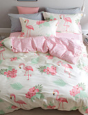 cheap Women's Pants-Duvet Cover Sets Animal 4 Piece 100% Cotton Pure Cotton Reactive Print 100% Cotton Pure Cotton (If Twin size, only 1 Sham or Pillowcase)