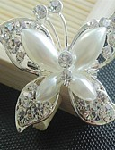 cheap Men's Polos-Women's Brooches - Flower, Animal Brooch White / Sliver For Party / Party / Evening / Dailywear