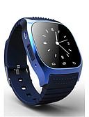 baratos Relógios Mecânicos-Homens Relógio de Pulso Impermeável Borracha Banda Amuleto / Fashion Preta / Branco / Azul