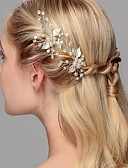 cheap Wedding Dresses-Crystal / Imitation Pearl Hair Pin with 1 Wedding / Special Occasion / Anniversary Headpiece