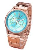 preiswerte Quartz-Damen Quartz Armbanduhr Armbanduhren für den Alltag Legierung Band Freizeit Modisch Gold
