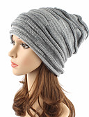 cheap Fashion Hats-Unisex Headwear Cute Chic & Modern Knitwear Beanie / Slouchy Floppy Hat - Solid Colored Pure Color