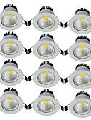 baratos Gravatas e Gravatas Borboleta-JIAWEN 5W 1 LEDs Decorativa Downlight de LED Branco Quente Branco Frio AC85-265