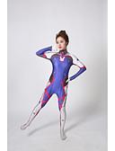 preiswerte Modische Unterwäsche-Zentai Anzüge Zentai Anzüge mit Muster Cosplay Kostüme Superheld Ninja Cosplay Zentai Kostüme Cosplay Kostüme Blau Druck Andere
