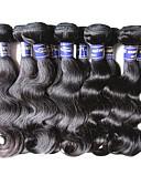 olcso Férfi nyakkendők és csokornyakkendők-Perui haj Hullámos haj Emberi haj Az emberi haj sző Emberi haj sző Human Hair Extensions