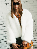 cheap Women's Fur & Faux Fur Coats-Faux Fur Wedding / Party / Evening Women's Wrap With Coats / Jackets