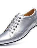 cheap Quartz Watches-Men's Novelty Shoes Microfiber Spring / Fall Oxfords Gold / Silver