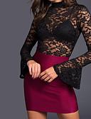 baratos Vestidos de Mulher-Mulheres Trabalho Para Noite Macacão Sólido