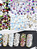 cheap Women's Dresses-800 pcs Nail Jewelry nail art Manicure Pedicure Daily Fashion