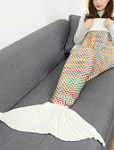 cheap Prom Dresses-Travel Blanket Blanket Emergency Blanket Casual / Daily Women's Girls' Mermaid