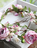 ieftine Rochii de Damă-Tul / Șifon / Material Textil Banderolele / Flori cu 1 Nuntă / Ocazie specială / Zi de Naștere Diadema