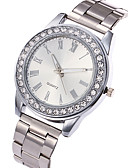 cheap Quartz Watches-Women's Wrist Watch Casual Watch / Cool Stainless Steel Band Charm / Luxury / Casual Silver / Gold / Rose Gold