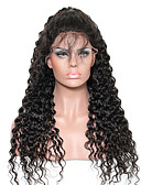 cheap Men's Underwear & Socks-Human Hair Lace Front Wig Curly Wig 130% Natural Hairline / African American Wig / 100% Hand Tied Women's Medium Length / Long Human Hair Lace Wig