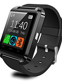 baratos Pulseiras Smart & Monitores Fitness-u8 smartwatch assista a resposta bluetooth e marque as funções do alarme de assaltante do passômetro do telefone