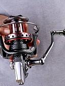 baratos Vestidos de Mulher-Molinetes de Pesca Molinete de Isco Molinetes Rotativos 4.7:1 Relação de Engrenagem+11 Rolamentos Orientação da mão Trocável Pesca de Mar