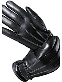 cheap Gloves-Men's Fur Wrist Length Fingertips Gloves - Solid Colored