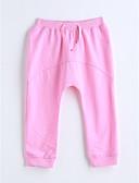 olcso Kislány ruhák-Lány Egyszínű Pamut Nadrágok
