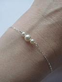 preiswerte Hochzeit Schals-Damen Perle Ketten- & Glieder-Armbänder Bettelarmbänder - Armbänder Silber / Golden Für Party Alltag Normal